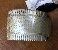 ethnic tribal old silver bracelet cuff gothic tribal jewelry - tribalexport