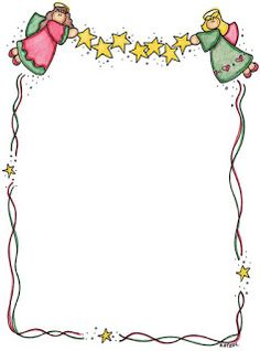 angels we have heard on high! Christmas Border, Christmas Frames, Christmas Tag, Borders For Paper, Borders And Frames, Christmas Clipart, Christmas Printables, Diy And Crafts, Paper Crafts