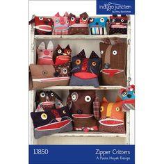 Zipper Critters Pattern