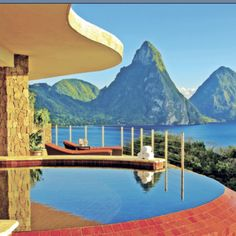 Jade Mountain, St. Lucia - I want to go here so bad!!!