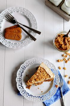 Peanut Butter Ice Cream Pie with Biscoff Cookie Crust � for Mikey