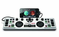 ION Audio IDJ2GO DJ System for iPad, iPhone and iPod Touch. Want it? Own it? Add it to your profile on unioncy.com #tech #gadgets #electronics