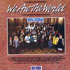 """...ter cantado muito (mas muito mesmo!) """"We Are The World"""""""