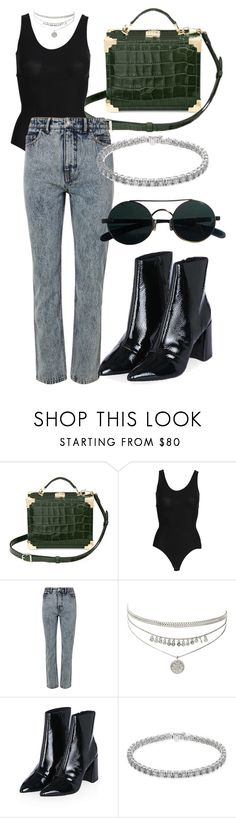 """""""Look:527"""" by dollarwomanlux ❤ liked on Polyvore featuring Aspinal of London, SPANX, TIBI and Topshop"""