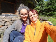 """""""Aqui em Findhorn Foudantion, passamos pela experiência de viver com eles vivem..."""" Patrícia Ribeiro.  #DCfindhornEUVIM #destinocolaborativo"""