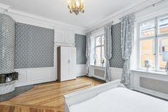 Sovrummet på plan två i Cybele 1, Tyska Brinken 28.