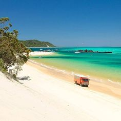 Moreton Island is 95% National Park and is home to the awesome Tangalooma Wrecks - an amazing man-made wreck dive and snorkel site teeming with marine life, Queensland, Australia