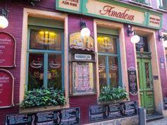 http://skyetravels.com/restaurants-in-ghent/ #visitgent gent ghent restaurant food where to eat Belgium europe travel