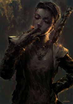 "st-just: ""Dante by Cassio Yoshiyaki "" Dark Fantasy, Fantasy Rpg, Dnd Characters, Fantasy Characters, Female Characters, Character Concept, Character Art, Concept Art, Character Ideas"