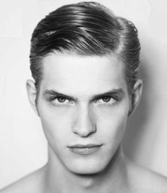 Im torn between liking men that are extremely clean cut with parted hair and perfect eyebrows or guys that are shamelessly disheveled with beards and long hair. Classic Mens Hairstyles, Slick Hairstyles, Modern Hairstyles, Brown Hairstyles, Side Part Haircut, Side Part Hairstyles, Hair Pomade, Pomade Hairstyle Men, Asian Men Hairstyle