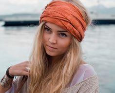 sjaal in je haar