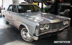 Ford Landau 1976 teve revisão completa para voltar a rodar depois de muito tempo parado na garagem do proprietário.  #Ford #Galaxie #Landau #Revisão #Batistinha #Garage #BatistinhaGarage