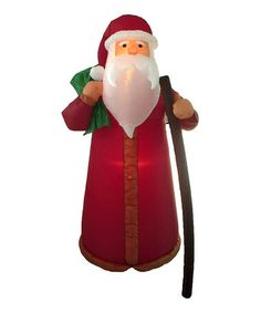 Take a look at this Father Christmas Inflatable Yard Decoration by BZB Goods on #zulily today!