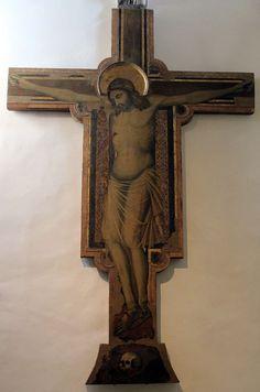 Pacino di Bonaguida - Crocifisso sagomato - 1300-1310 ca. - Chiesa di Santa Felicita, Firenze