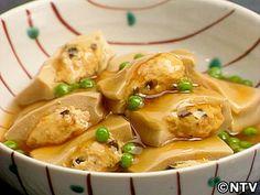 高野豆腐のはさみ煮のレシピ|キユーピー3分クッキング