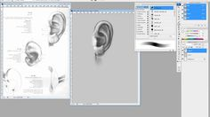 게임그래픽-귀 그리기02