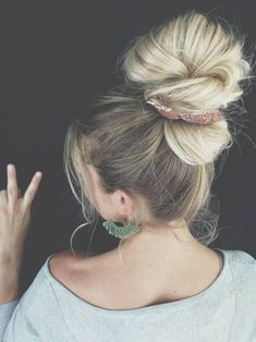 Floral Hair, Messy Bun, Scrunchies, Bangs, Trending Outfits, Unique Jewelry, Handmade Gifts, Earrings, Etsy