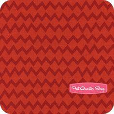 Monster Mash Red Zig Zag Yardage <br/>SKU# 6140705-03
