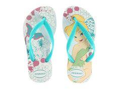 Havaianas Kids Slim Tinkerbell Disney Flip Flop (Toddler/Little Kid/Big Kid)