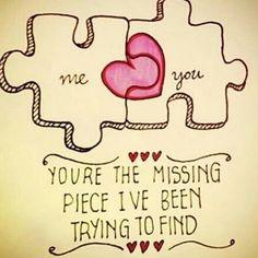 Ich hatte zwar nicht gesucht, aber bin total froh, dich gefunden zu haben... und es passt!!! :) Wieso können Gefühle eigentlich so überdemensional stark sein? Du bist halt etwas Besonderes und für mich ganz besonders <3 <3 <3... ich liebe dich mein Hase <3 <3 <3