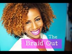 Braid Out - YouTube