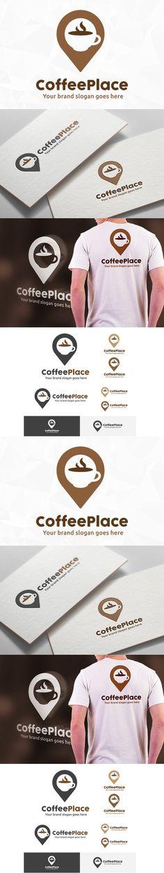 Coffee Place Logo. Logo Templates. $29.00