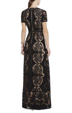 Cailean Lace Maxi Dress   BCBG <3