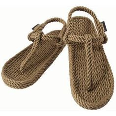 Gurkee's rope sandals - LOVE THEM.