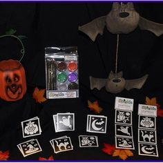 Halloween tattoos. Available at www.sparkletattoo.ca Halloween Tattoo, Tattoos, Holiday, Instagram Posts, Tatuajes, Vacations, Holidays, Tattoo, Tattoo Illustration