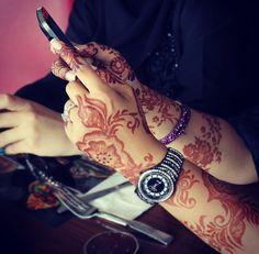 Love this arabic henna