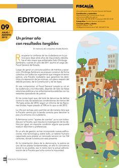 Editorial: Un primer año con resultados tangibles