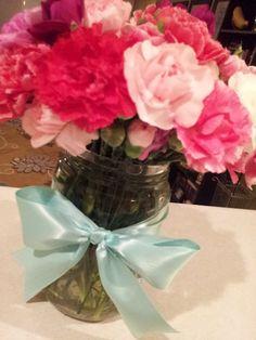 Simple Valentine's Day Flower Arrangement