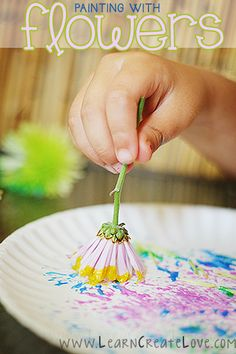 Paint with Flowers: Use Dandelions as a Fun Alternative to Paint Brushes