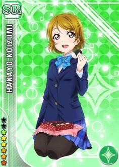 #543 Koizumi Hanayo SR idolized