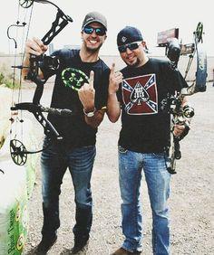 c835474f54 Luke Bryan and Jason aldean. I have the same brand bow as Luke Bryan