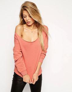 The off shoulder sweatshirt #ILoveMyCotton #OffShoulder #Summer2016