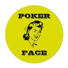 Poker Face  Casino quality ceramic poker chips