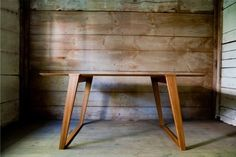 Isometric Table by Kalon Studios contemporary dining tables