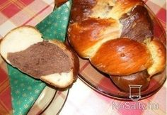 Cicás kalács Dessert Recipes, Desserts, Pretzel Bites, Muffin, Food And Drink, Favorite Recipes, Bread, Breakfast, Pastries