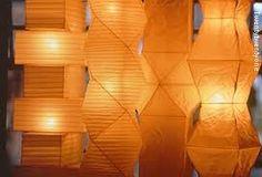 Nogushi paper lamps
