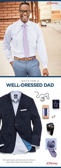 db9d40b0d0a JCPenneyMen s Must-Haves · JCPenney has all the best gifts for the dapper  dad—including suit jackets