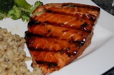 Sweet and Soy Salmon can be prepared on the stove top or grill!