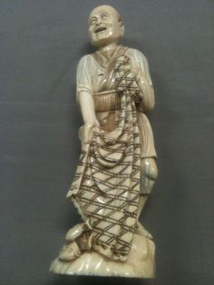 Top quality japanese carved ivory - Meji period - imperial red seal - call Danilo 0039 335 6815268