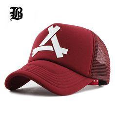 98e9b52b Baseball Hat Mesh Summer Cap Trucker Snapback Adjustable Snap Back Plain  Hip Hop