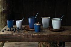 Een prachtige toevoeging aan je servies met een stoere uitstraling. De ASA Selection Saisons in de kleuren Midnight Blue & Denim.