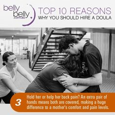 Doulas - 10 Top Reasons Why You Should Have A Doula At Your Birth