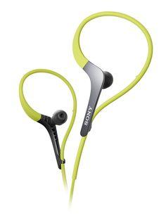 Amazon.com: Sony MDRAS400EX Sports Headphones with Adjustable Ear Loop (Black): Electronics