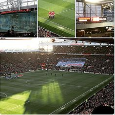 Great day at Old Trafford! Again R.I.P to the busby Babes ♥