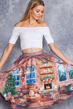 Hide and Peek Pocket Midi Skirt - LIMITED