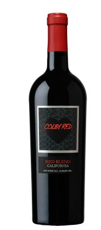 Colby Red--a wine that is made honor of a 13yo boy who underwent heart surgery at age 10.